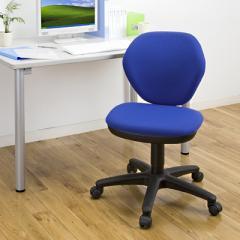 【アウトレット】 椅子(オフィスチェア・ブルー)
